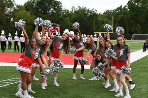 CHS Sideline Cheer – Lutheran North Football Game – 08-29-2019