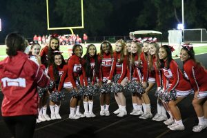 CHS Sideline Cheer – Our Lady of the Lakes Football Game – 09-06-2019