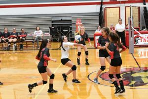 CHS Girls JV Volleyball vs Lutheran Westland – 09-10-2019