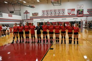 CHS Girls Varsity Volleyball vs Lutheran Westland – 09-10-2019