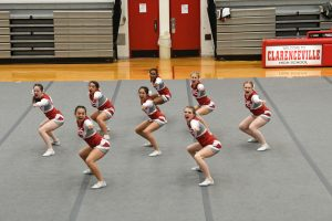 Clarenceville Varsity Cheer Competition at CHS – 01-09-2020 Part 2