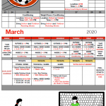 Girls Soccer Off-Season to Tryouts Schedule