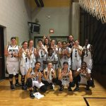 T L Hanna High School Girls Varsity Basketball beat D W Daniel High School 48-36