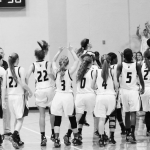 T L Hanna High School Girls Varsity Basketball beat Woodmont High School 44-40