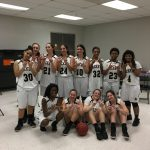 T L Hanna High School Girls Junior Varsity Basketball beat Westside High School 40-18