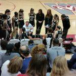 T L Hanna High School Girls Varsity Basketball beat Westside High School 52-38