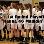 T L Hanna High School Girls Varsity Basketball beat Mauldin High School 46-37
