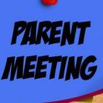 Spring Sport Parent Meeting *Thursday 2/16