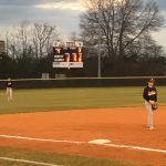 T L Hanna High School Freshman Baseball beat Wren High School 2-1