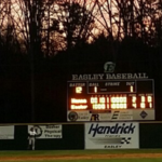 T L Hanna High School Varsity Baseball falls to Easley High School 4-2
