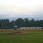 T L Hanna High School Varsity Baseball falls to J L Mann High School 1-0
