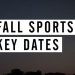 SCHSL Fall 2017 Key Dates – Presented by VNN