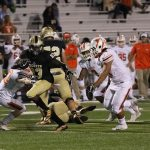 T L Hanna High School Varsity Football beat Mauldin High School 21-10