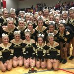 Competitive Cheer Team Places 2nd at Diamond L Classic