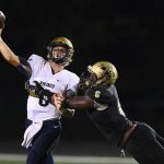 T L Hanna High School Varsity Football beat Spartanburg High School 35-0