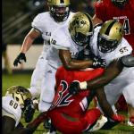 T L Hanna High School Varsity Football beat Boiling Springs High School 29-20