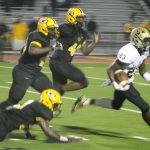 T L Hanna High School Varsity Football beat Greenwood High School 42-7
