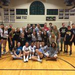 T L Hanna High School Girls Varsity Volleyball beat Gaffney High School 3-0