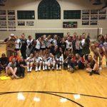 T L Hanna High School Girls Varsity Volleyball beat Hillcrest High School 3-1