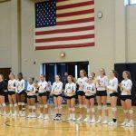 T L Hanna High School Girls Varsity Volleyball falls to Dorman High School 3-1