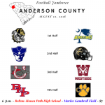 2018 Anderson County Football Jamboree