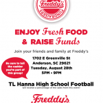 Freddy's Frozen Custard & Steakburgers – August 28th
