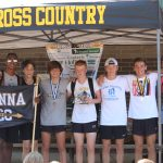 Boys XC finishes 3rd at Lake Murray!