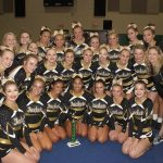 Comp Cheer Places 1st at Green Wave Invitational