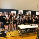 Girls Junior Varsity Volleyball beat Easley 2 – 0