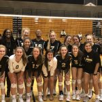 JV Volleyball beat Laurens 2 – 0 in their last home match. Great season for the Yellow Jackets!