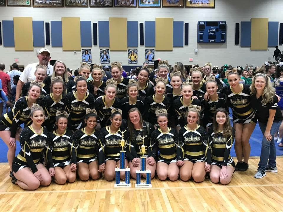 Competition Cheer Team Wins 1st place and Grand Champs at The Duel In the Lion's Den!