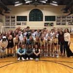 Girls Varsity Volleyball swept Gaffney 3 – 0 in First Round of Playoffs