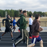 Varsity Coed Track Gears Up For A New Season! (Photos taken by Anna White)