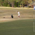 Boys Varsity Golf chalks up pair of region wins in 3-way at Cobb's Glen