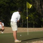 Boys golf drops one to Wade Hampton