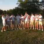 Seniors figure prominently in boys golf Senior Day victory over Hart County