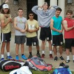 Boys Varsity Tennis (20-3 Overall,  14-0 Region) beats Wade Hampton 5 – 2 and Completes Perfect Regular Season!