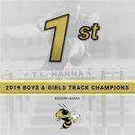 T.L. Hanna Boys and Girls Track and Field Teams are Region Champs!