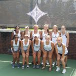 Girls Varsity Tennis finishes 3rd place at Furman Pre-Season Invitational