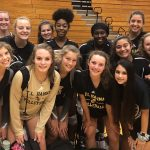 Junior Varsity Volleyball beat Easley 2 – 0