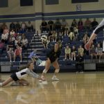 Varsity Volleyball beat Laurens 2 – 0