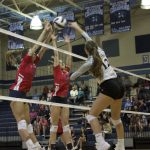 Varsity Volleyball beat Easley 2 – 0