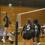 Junior Varsity Volleyball beat Westside 2 – 0