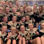 JV Competition Cheer takes 1st Place