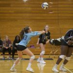 Junior Varsity Volleyball beat J L Mann 2 – 0