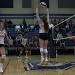Varsity Volleyball falls to JL Mann 3 – 1