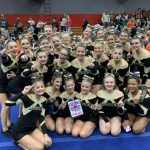 JV Competition Cheer wins 1st