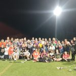 Girls Lacrosse off site with Clemson