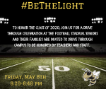 #BeTheLight Moved to 11th!