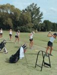 TLH Girl's Golf beat the Powdersville Lady Patriots